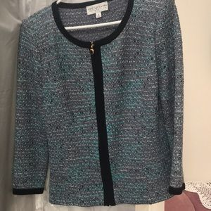 St.Johns knit Blazer & Skirt size 10